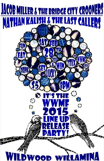 release party poster